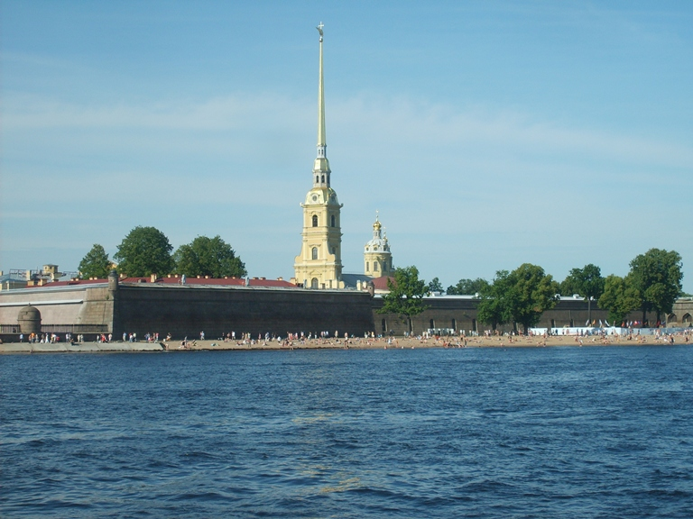 The photo. Peter and Paul Fortress in St. Petersburg.