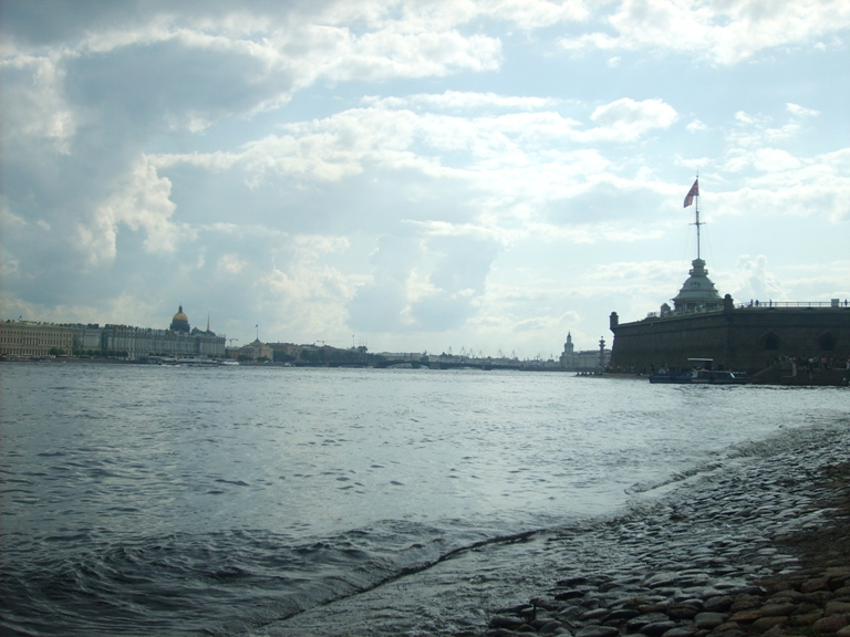 The photo. Peter and Paul Fortress in St. Petersburg attractions constellation.