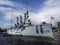 Фото достопримечательности Санкт-Петербурга крейсера Аврора